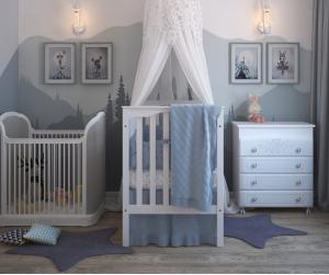 עיצוב חדר תינוקות- ב 7 צעדים פשוטים